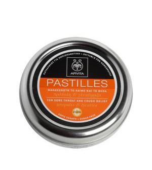 Apivita Pastilles με Γλυκόριζα & Πρόπολη 45Gr