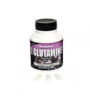 Health Aid L-Glutamine 500Mg 60Tabs