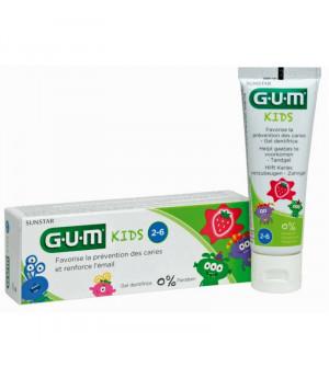 GUM 3000 Kid 2-6 Οδοντόκρεμα 50ml