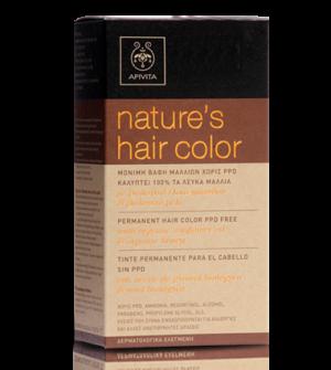 Apivita Hair Color N 6.7 Ξανθό Σκούρο Μπεζ