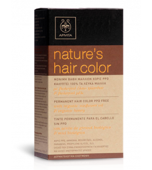 Apivita Hair Color N 6.3 Καρυδί