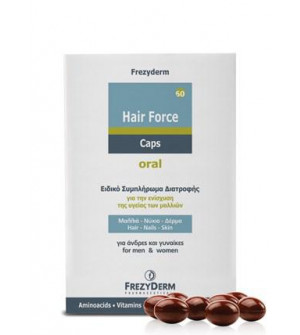 Frezyderm Hair Force Caps Oral 60Caps