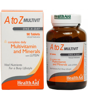Health Aid A Τo Z Multivit Minerals & Lutein 90Tabs