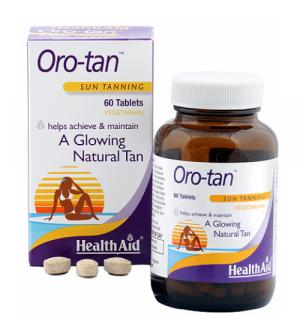 Health Aid Oro-tan Sun Tanning 60tabs