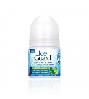 Optima Ice Guard Natural Crystal Rollerball Deodorant With Lemongrass 50ml