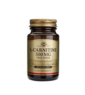 Solgar L-Carnitine 500Mg 30Tabs