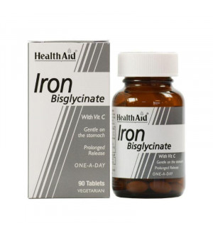Health Aid Iron Bisglycinate 30Tabs