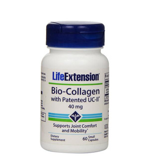 Life Extension Bio-Collagen with Patended UC-II 40mg 60caps