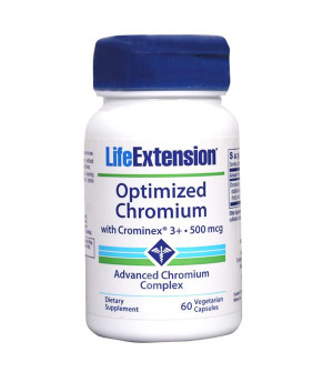 Life Extension Optimized Chromium 500Mcg 60Caps
