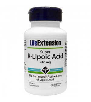Life Extension Super R-Lipoic Acid 240Mg 60Caps