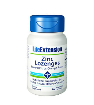 Life Extension Zinc Lozenges 60 Tabs