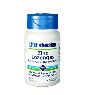 Life Extension Zinc Lozenges 60 Tabs