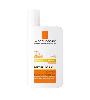 La Roche Posay Anthelios XL SPF50+ Τinted Fluid Ultra-Light Αντηλιακή Προσώπου με Χρώμα 50ml