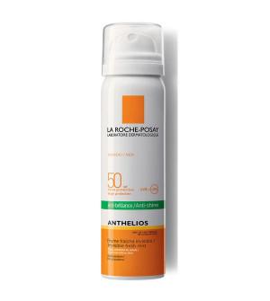 La Roche Posay Anthelios Anti-brillance Mist SPF50 Αντηλιακό Σπρέι Προσώπου για Ματ Αποτέλεσμα 75ml