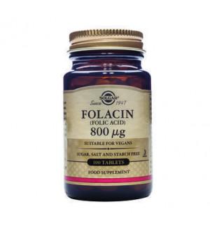 Solgar Folacin (Folic Acid) 800mg 100tab