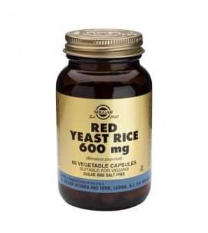 Solgar Red Yeast Rice 600mg 60veg.caps