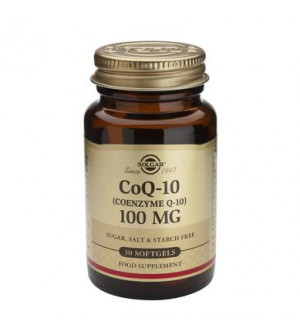 Solgar Coenzyme Q10 100Mg 30Softgels
