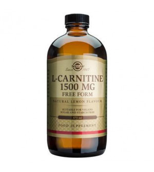 Solgar L-Carnitine 1500Mg Free Form Liquid 473ml