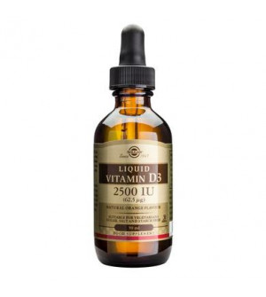 Solgar Vitamin D3 2500 IU Liquid 59ml