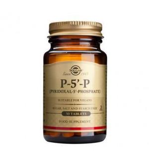 Solgar P-5-P (Pyridoxal-5-Phosphate) 50mg 50tabs