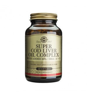 Solgar Super Cod Liver Oil Complex 60Softgels