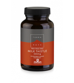 Terranova Milk Thistle 500Mg 50Caps