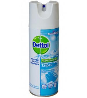 Dettol Spray Απολυμαντικό Mountain Air 400ml