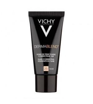 Vichy Dermablend Fluide Spf 35 Nude 25 30ml