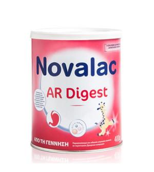 Novalac Ar Digest Βρεφικό Γάλα Κατά των Σοβαρών Αναγωγών 400gr