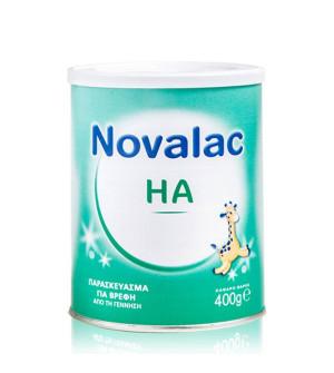 Novalac Ha Γάλα 1ης βρεφικής ηλικίας για Πρόληψη Αλλεργιών 400gr