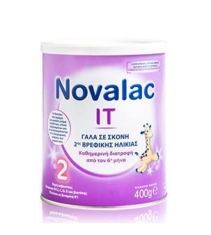 Novalac IT 2 Γάλα Σκόνη 2ης Βρεφικής Ηλικίας από τον 6ο Μήνα 400gr