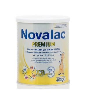 Novalac Premium 3 Γάλα για Παιδιά Άνω του Ενός Έτους με Γεύση Βανίλια (1-3 Ετων) 400g