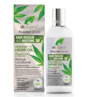 Dr. Organic Hemp Oil Rescue Conditioner 265ml