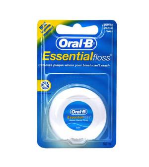 Oral - B Essential Floss Ακήρωτο Οδοντικό Νήμα 50m