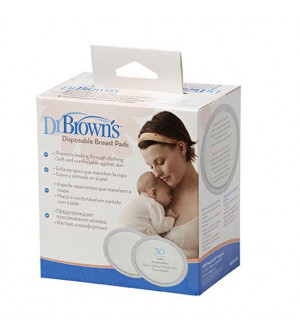 Dr. Brown'S Επιθέματα Στήθους Μιας Χρήσης 30τμχ.