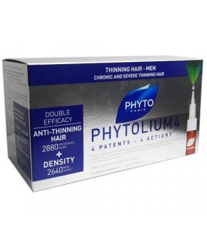 Phyto Phytolium 4 Αγωγή Κατά Της Τριχόπτωσης 12x3,5ml