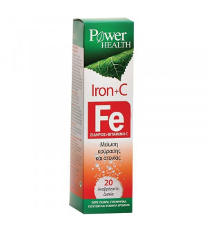 Power Health Iron+C Fe 20eff.tabs