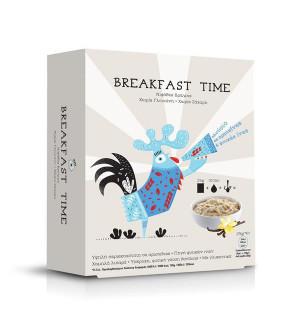 Power Health Breakfast Time νιφάδες βρώμης χωρίς γλουτένη 5x25gr με γεύση βανίλια