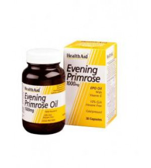 Health Aid Evening Primrose Oil 1000Mg+E 30Caps