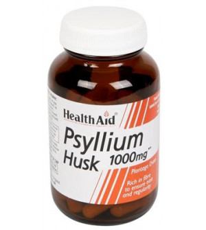 Health Aid Psyllium Husk 1000Mg 60Cap 60Caps