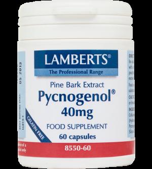 Lamberts Pycnogenol 40Mg 60Caps