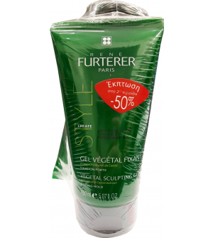 Rene Furterer Style Vegetal Sculpting Gel 150ml 2x50%