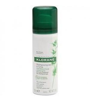 Klorane Ξηρό Σαμπουάν Με Γαλάκτωμα Τσουκνίδας Για Λιπαρά Μαλλιά 50ml