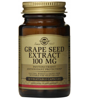 Solgar Grape Seed Extract 100mg 30Veg.Caps