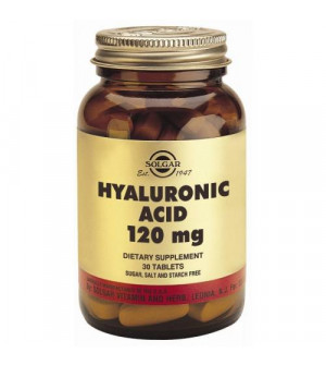 Solgar Hyaluronic Acid 120Mg 30Tabs