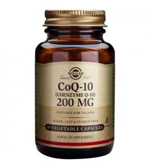 Solgar Coenzyme Q10 200Mg 30Vegetable Caps