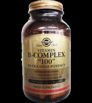 """Solgar Vitamin B """"100"""" Complex 100Caps"""