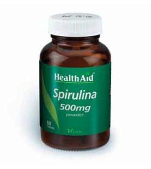 Health Aid Spirulina Σπιρουλίνα 500Mg 60Tabs