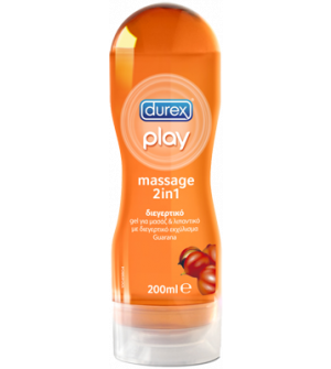 Durex Play Massage 2 In 1 Guarana Gel 200ml