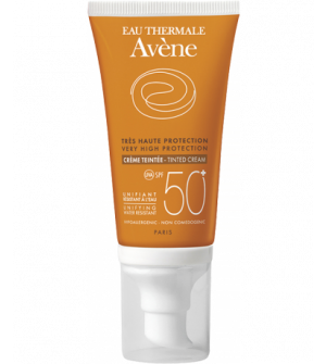 Avene Eau Thermale Face Cream with Color 50+ SPF 50ml